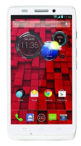 Motorola DROID ULTRA XT-1080 16GB Android 4G LTE Mobile Smart Phone GSM  Unlocked White (Certified Refurbished)