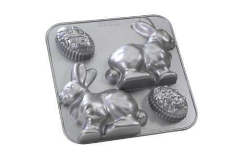 Nordic Ware Platinum Collection 3D Bunny Pan