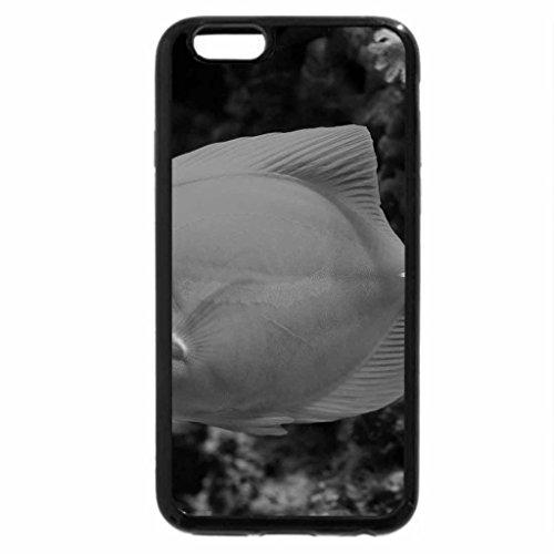 iPhone 6S Plus Case, iPhone 6 Plus Case (Black & White) - Exotic fish