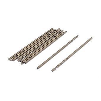 eDealMax Ronda de caña DE 1, 0 mm Dia Bit HSS-CO perforación ...