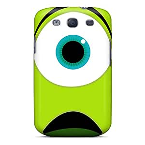 Durable Hard Cell-phone Cases For Samsung Galaxy S3 (jmE13718VMlZ) Custom High-definition Monsters University Mike Wazowski Pictures