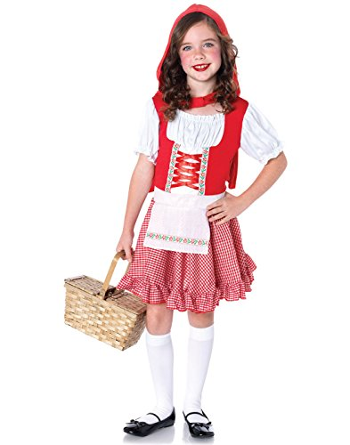 Leg Avenue Children's Lil Miss Red Riding Hood Costume