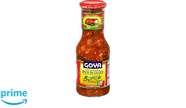 Amazon.com : Goya Foods Pico De Gallo Authentic Mexican Home-Style Chunky Salsa, 17.6 Ounce (Pack of 12) : Grocery & Gourmet Food