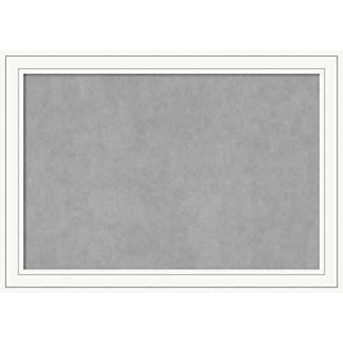 Amanti Art Framed Magnetic Board Craftsman White: Outer Size 41 x 29'', Extra Large by Amanti Art