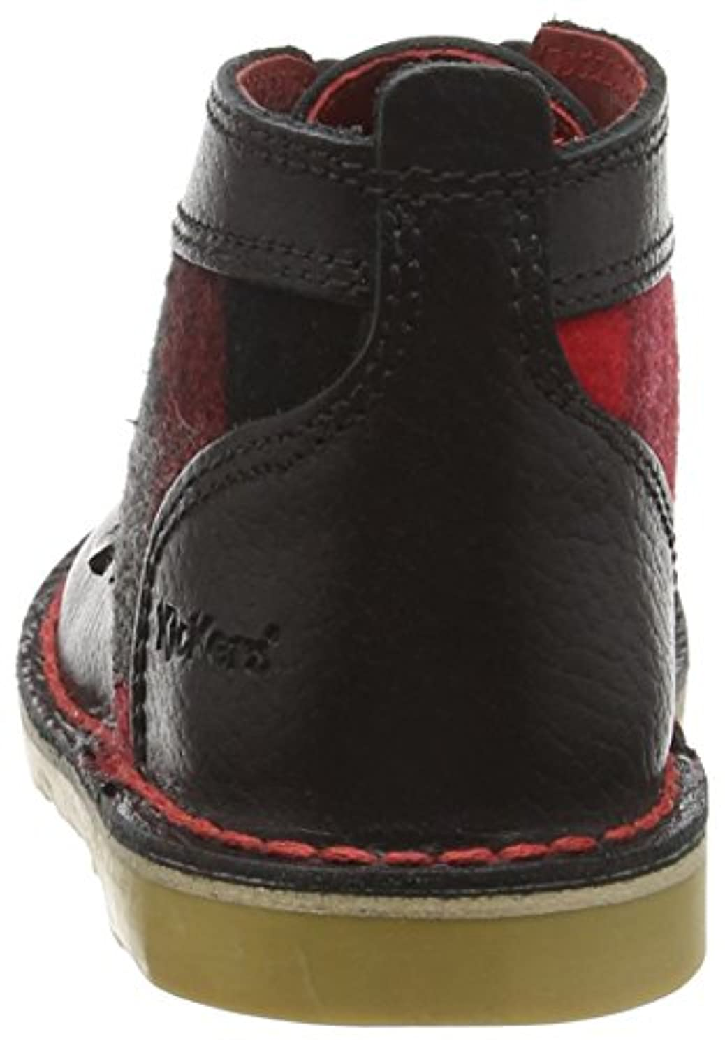 Kickers Boys' Adlar Legendry Ankle Boots, Black (Black), 6 Child UK 23 EU