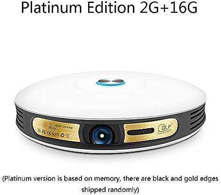 RENYY Proyector, 8000 lúmenes Soporte 1080P HDMI/VGA/USB/Tarjeta ...