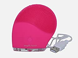 SONIC FACIAL BRUSH, 6 SPEEDS CLEANSER and MASSAGER. MAGIC TOUCH ANTI-AGING VIBRATING FACIAL BRUSH.