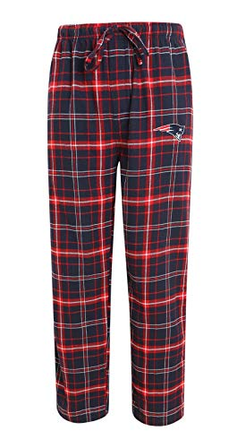 NFL New England Patriots Men's Ultimate Flannel Pants (XX-Large) (Men Patriot Pajamas For)