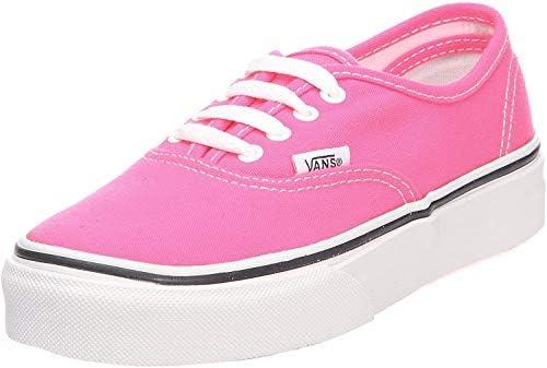 Vans Girls' Authentic, (Neon) Pink
