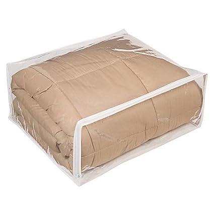Amazoncom Clear Vinyl Zippered Storage Bags 24x20x11 Inch Set Of 5