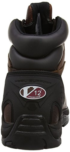 V12 Safety Footwear V1219 Storm Full Grain Leather Waterproof Hiker Style Work Boots, Size 10 Brown
