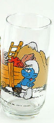 hardees-1982-smurf-character-glasses-hefty
