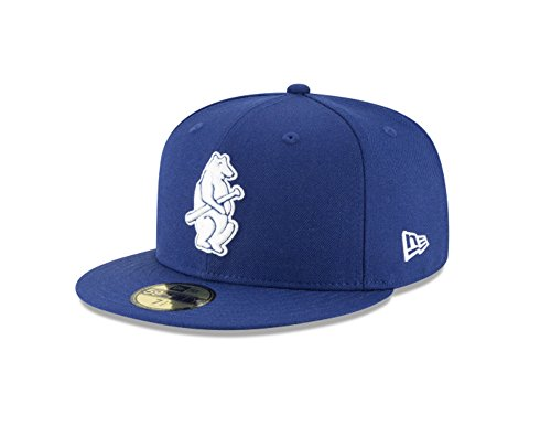 - New Era 59Fifty Hat Chicago Cubs Cooperstown 1914 Wool Fitted Headwear Cap (7 1/8)