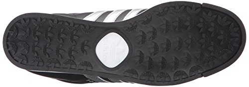 clearance wide range of free shipping shopping online adidas Originals Men's Samoa Retro Sneaker Black/Metallic Silver/White cheap sale new discount great deals visit new cheap online BOUkcVQPq7