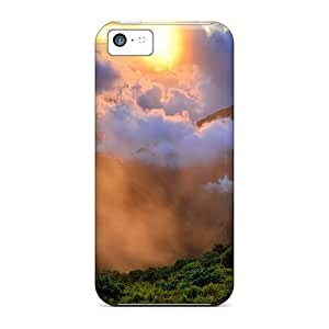 Hot Tpye Morning In The Valley Case Cover For Iphone 5c