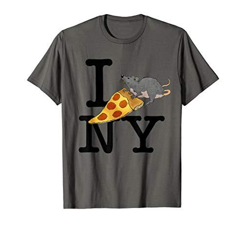 Pizza Rat, I love New York, Pizza Shirt, Ironic T-shirt