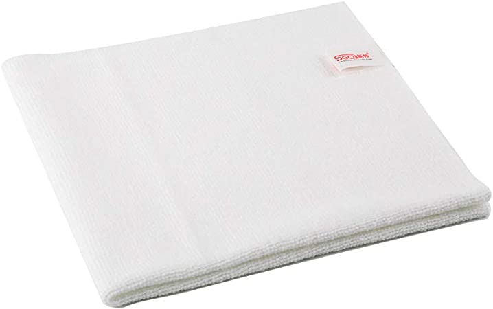 5-Pack EDGELESS Pearl Professional Microfiber Ceramic Coating//Sealant//Interior Detailing Towels 320gsm Pearl-Weave x 16 in The Rag Company 16 in 16x16, Ice Grey