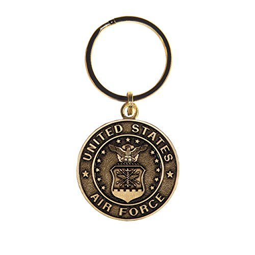 United States Air Force Bronze Military Key Ring ()