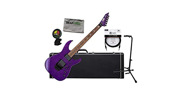 ESP LTD KH-602 Kirk Hammett Signature Purple Sparkle - Guitarra eléctrica: Amazon.es: Instrumentos musicales