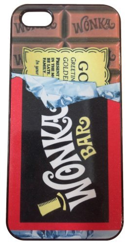 iPhone Case, Wonka Bar (Wonka Bar (iPhone 4 black))