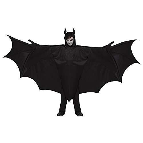 Fun World Kid'S Wicked Wing Bat Chld Cstm Childrens Costume, Multi, Multicolor, One Size