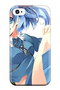 Best boots blue twintails open mouth bags Anime Pop Culture Hard Plastic iPhone 4/4s cases 3774447K105991128