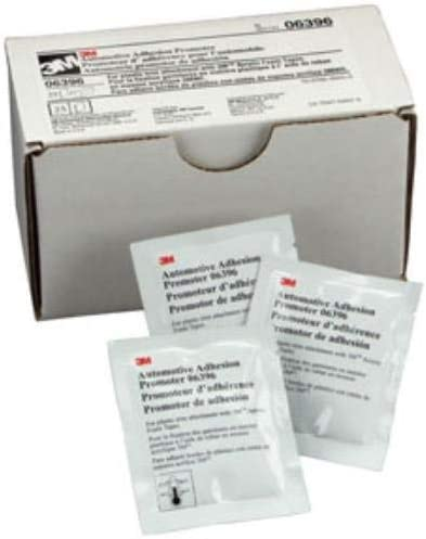 3M 6396 Automotive Adhesion Promoter 06396 Sponge Applicator Packets 2.5 ml