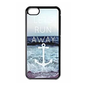 Lets Run Away New Fashion Case for Iphone 5C, Popular Lets Run Away Case