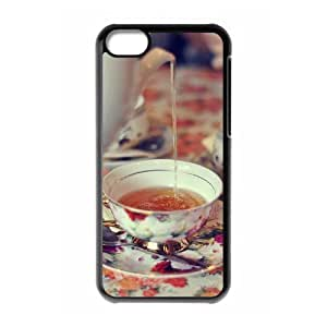 Afternoon Tea Custom Cover Case with Hard Shell Protection for iphone 6 plus Case lxa#412213