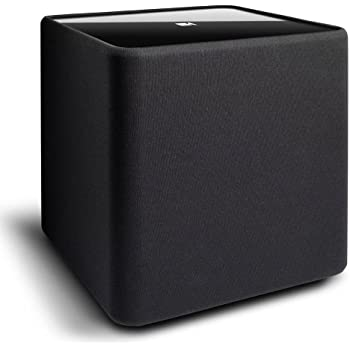 "KEF KUBE-1 8"" Powered Subwoofer (Black)"