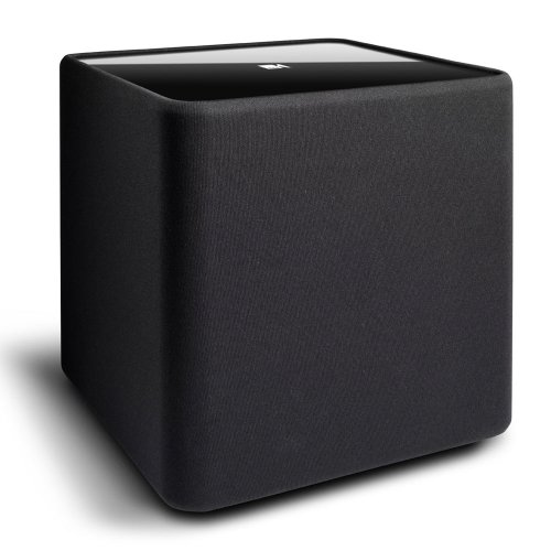 "KEF KUBE-1 8"" Powered Subwoofer (Black) 5"