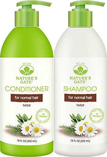 Nature's Gate Herbal Daily Cleanse Shampoo and Nature's Gate