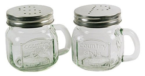 Grant Howard 7 Ounce Country Style Range Top Salt and Pepper Shakers, Set of 12 by Grant Howard