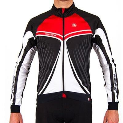 Giordana Mens Trade FR-C Custom Wings Cycling Jacket - GI-W3-JCKT-FRCA (Giordana Wings - Black/Red - XL)