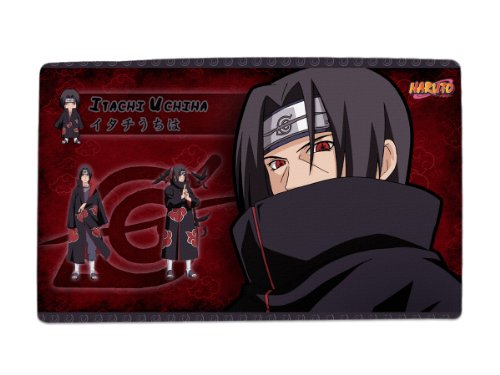A Wide Variety of Naruto Anime Characters Desk & Mouse Pad Table Play Mat (Uchiha Itachi 1)
