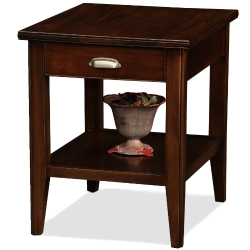 (Leick Laurent End Table with Drawer)