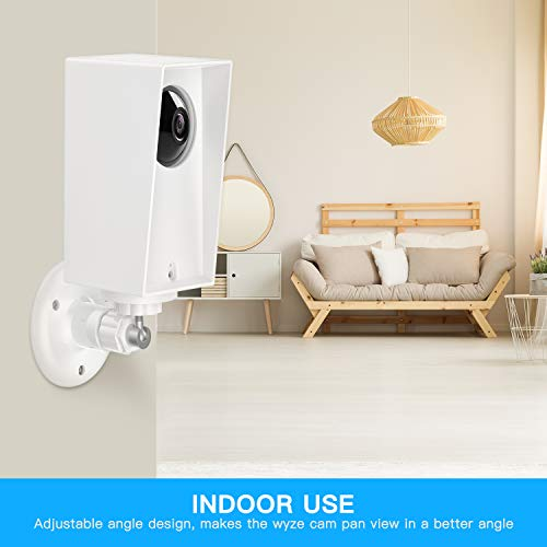 Wyze Cam Pan Wall Mount, Weather Proof Anti-Sun Glare and UV