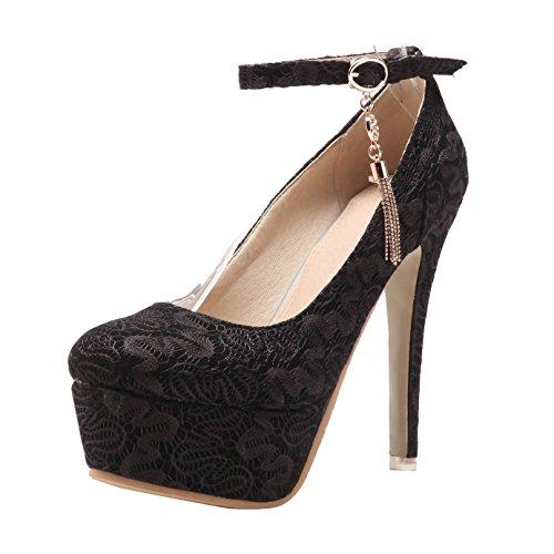 Elegante High-Heel mit Stiletto Absatz in Beige und Größe 36 Pumps in Schlangenlederoptik MwH9Bgbx