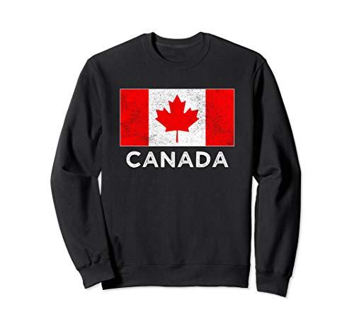 - Canadian National flag vintage gift  Sweatshirt