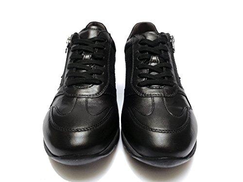 Nero Giardini - Zapatos de cordones de Piel para hombre negro negro negro Size: 41 6ZGUn