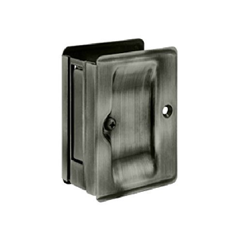 Deltana SDPA325U15A Adjustable 3 1/4-Inch x 2 1/4-Inch Passage HD Pocket Locks Deltana