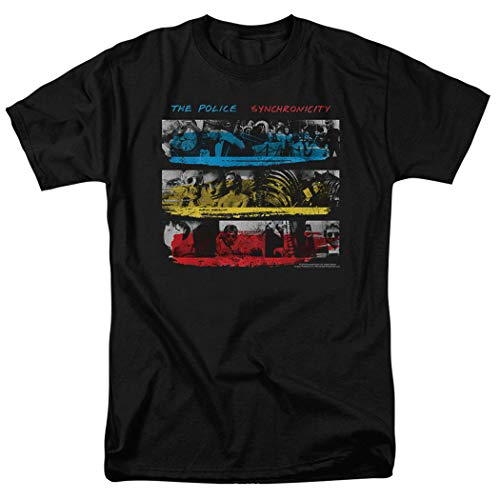 Popfunk The Police Synchronicity Album T Shirt (Large) Black ()