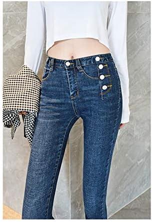 Kxdnzk Zkkxdn Jeans Para Mujeres Vintage Slim Style Pencil Jean Pantalones De Mezclilla Mujeres Pantalones Moda Adolescente Amazon Es Deportes Y Aire Libre