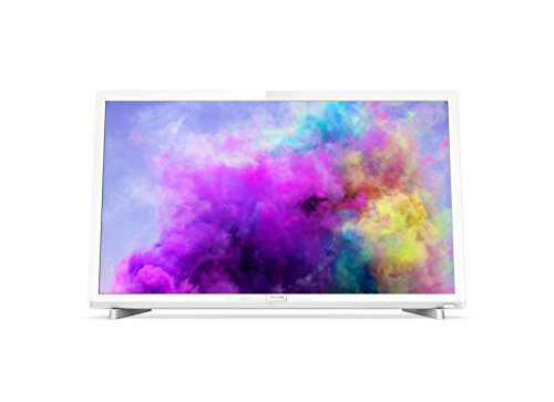 Philips 24PFT5603/05 24-Inch Full HD LED TV with Freeview HD - White (2018...
