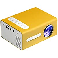 Portable Mini Projector LED Video Projector T300 Supports 1080P for Kids Gift Children Present, Home TV Computer, Laptop…