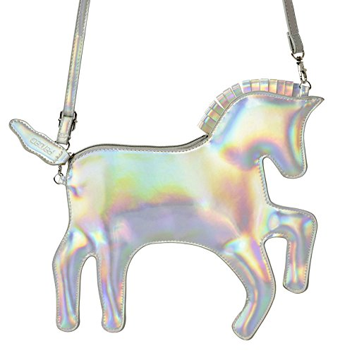 Handbag Purse Girls (Pardao Unicorn Bag Purse Handbag - Best Gift for Little Girls - Formal & Casual Shoulder Bag Clutch)