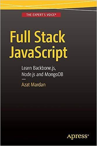 Full Stack JavaScript: Learn Backbone js, Node js and
