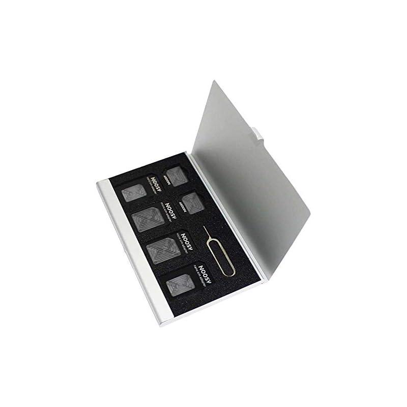 PCTC 7 Slots Aluminum Box Storage Case f