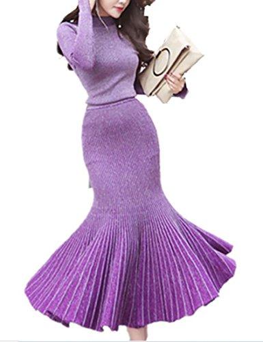 2 Piece Knit Dress - 1