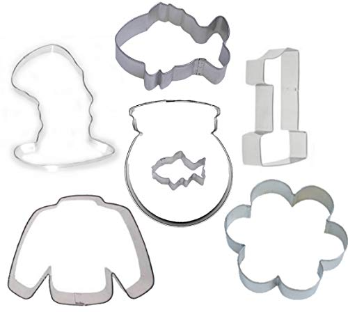 7 Piece Cat in the Hat Cookie Cutter Set